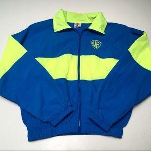 Vintage 80s Warner Brothers Neon Jacket